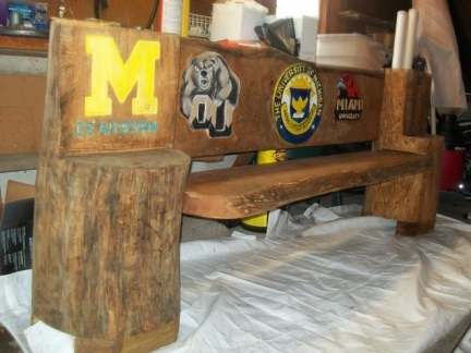 Another College Bench